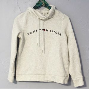 Tommy Hilfiger Spellout Hoodie Sweatshirt Small
